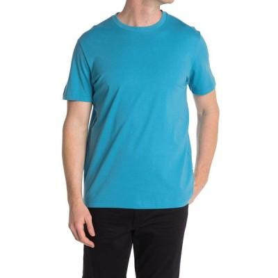 セレクテッドオム メンズ Tシャツ トップス Crew Neck Short Sleeve T-Shirt BLUEJAY
