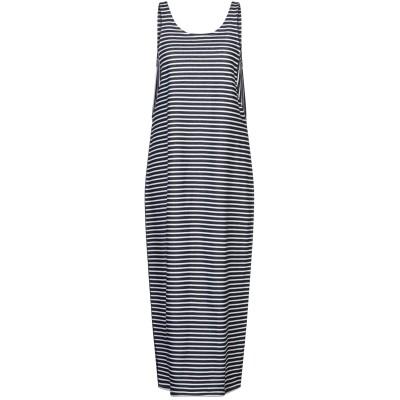 イレブンティ ELEVENTY ロングワンピース&ドレス ダークブルー S コットン 96% / ナイロン 4% ロングワンピース&ドレス