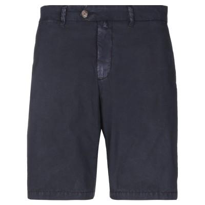 HOMEWARD CLOTHES バミューダパンツ ダークブルー 50 コットン 97% / ポリウレタン 3% バミューダパンツ