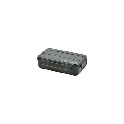 パール金属 ホームレーベル メンズランチボックス1段(ブラック)   D-435