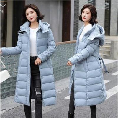 ダウンコート レディース ダウン綿コート BELKSDY32186 ロング丈 軽い ダウンジャケット 大きいサイズ 中綿コート 暖かい 20代 30代 4