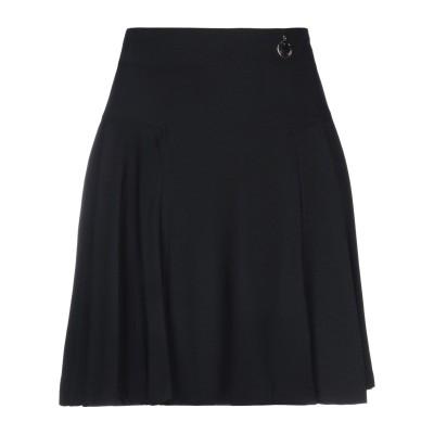 22 MAGGIO by MARIA GRAZIA SEVERI ひざ丈スカート ブラック 42 レーヨン 96% / ポリウレタン 4% ひざ丈ス