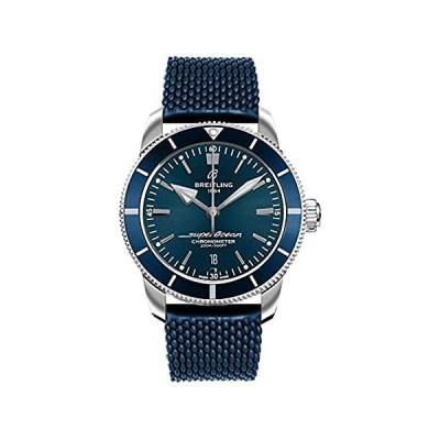 Breitling Superocean Heritage II B20 Automatic 44 Blue Aero Classic Rubber Strap Watch AB2030161C1S1 並行輸入品