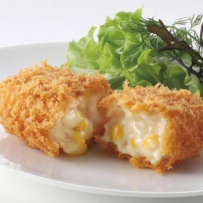冷凍食品 業務用 とろけるクリームコロッケ (コーン入り) 800g (10個入) 20205 弁当 ベシャメルソース ホワイトソース とうもろこし 揚物