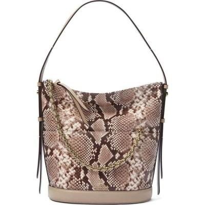 マイケル コース Michael Kors ユニセックス ショルダーバッグ バッグ Reese Large Leather Shoulder Bag Natural/Gold