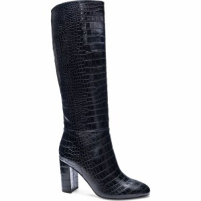 チャイニーズランドリー CHINESE LAUNDRY レディース ブーツ ロングブーツ シューズ・靴 Krafty Knee High Boot Black Crocodile