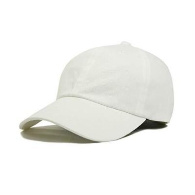 (ジロウズ) JIRROUZ シンプル コットン100% SML ベースボール メンズ キャップ 帽子 大きい 親子で被れる カジュアル帽子