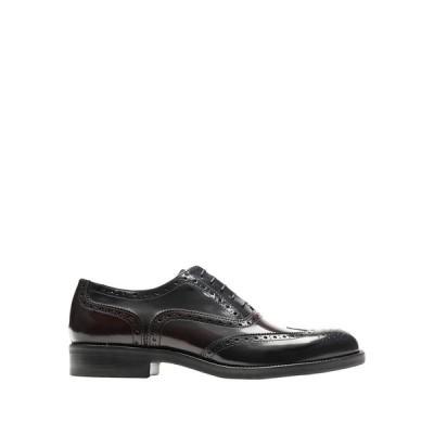 LEONARDO PRINCIPI レースアップシューズ  メンズファッション  メンズシューズ、紳士靴  その他メンズシューズ、紳士靴 ブラック
