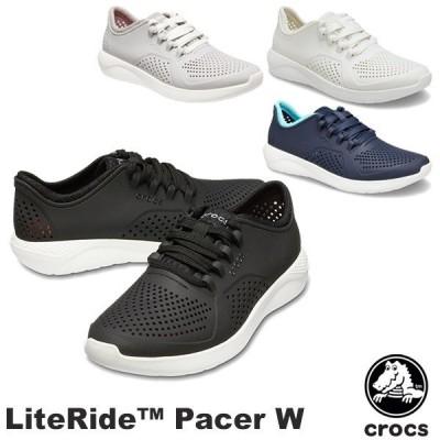 クロックス CROCS ライトライド ペイサー ウィメン literide pacer w レディース スニーカー 女性用 [AA]