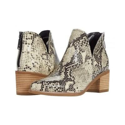 Blondo ブロンド レディース 女性用 シューズ 靴 ブーツ アンクル ショートブーツ Esmee Waterproof - Natural Snake