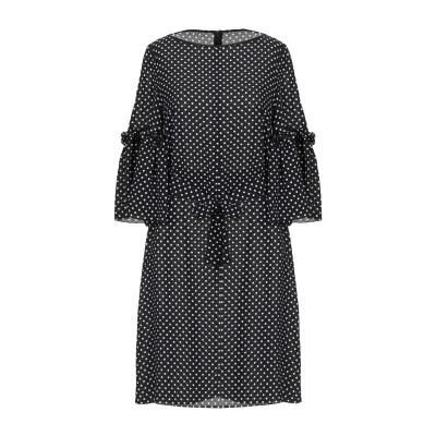 マイケル・コースコレクション MICHAEL KORS COLLECTION ミニワンピース&ドレス ブラック 2 シルク 100% ミニワンピース