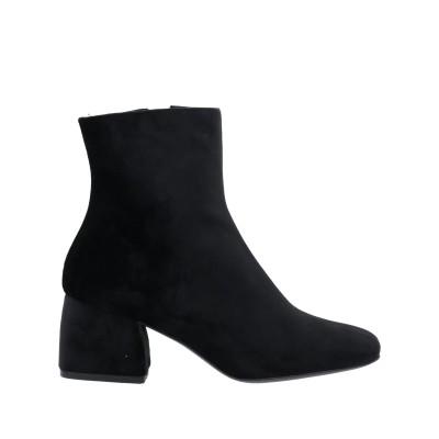 LUNI ショートブーツ ブラック 35 紡績繊維 ショートブーツ