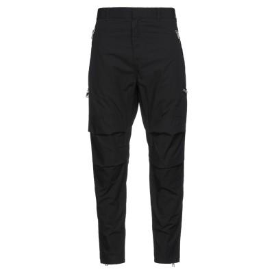バルマン BALMAIN パンツ ブラック 50 コットン 70% / ポリエステル 30% パンツ