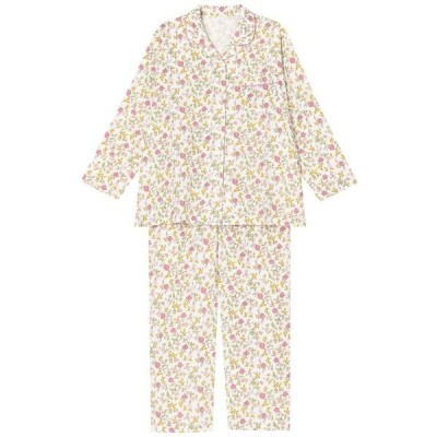 ルームウェア パジャマ 綿100%を使用した二重ガーゼでやわらかな素材感のパジャマ