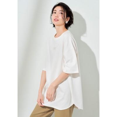 Lee×DHC・エンブロイダリービッグTシャツ