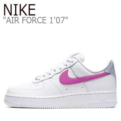 NIKE AIR FORCE 1'07 FIRE PINK エアフォース ナイキ ピンク ホワイト CT4328-101