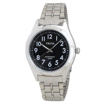 メンズ ウォッチ 腕時計 TELVA テルバ TE-AM010-BKS [メール便 日時指定代引不可][CREPHA] クレファー