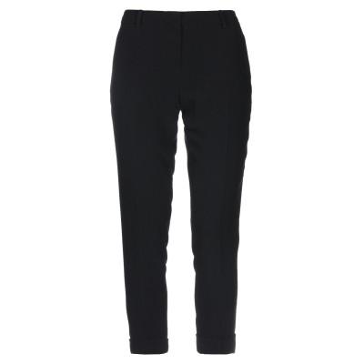 ヌメロ ヴェントゥーノ N°21 パンツ ブラック 38 レーヨン 50% / アセテート 50% パンツ