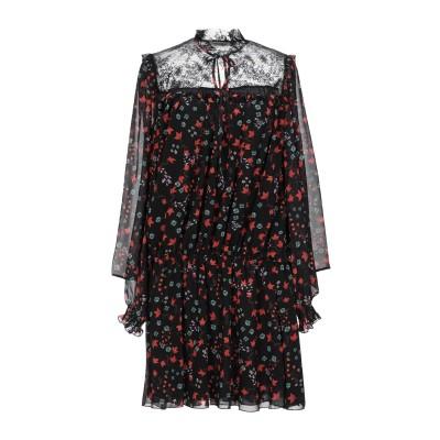 PAOLO CASALINI ミニワンピース&ドレス ブラック S ポリエステル 100% ミニワンピース&ドレス