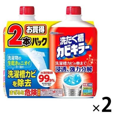セール カビキラー 洗たく槽カビキラー 液体タイプ 550g 1セット(4個入)ジョンソン