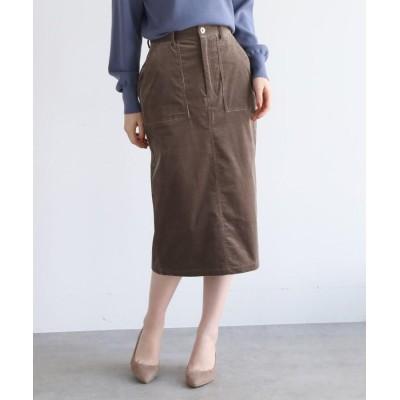 AG by aquagirl(エージー バイ アクアガール) 【Lサイズあり】コーデュロイタイトスカート