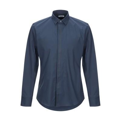 ビッケンバーグ BIKKEMBERGS シャツ ダークパープル 40 コットン 96% / ポリウレタン 4% シャツ