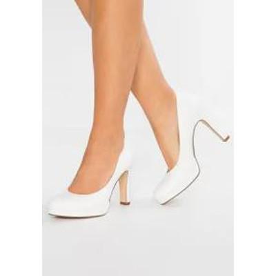 Tamaris レディースシューズ Tamaris High heels - white matt white matt