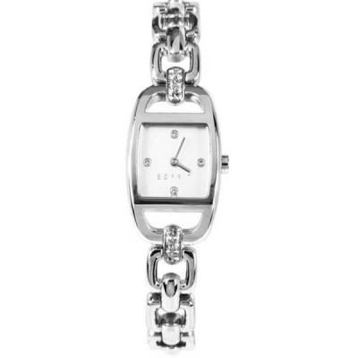腕時計 エスプリ Esprit クォーツ アナログ シルバー ステンレス スチール レディース ドレス 腕時計 ES107182004