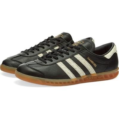 アディダス Adidas メンズ スニーカー シューズ・靴 hamburg Core Black/White/Lush Red