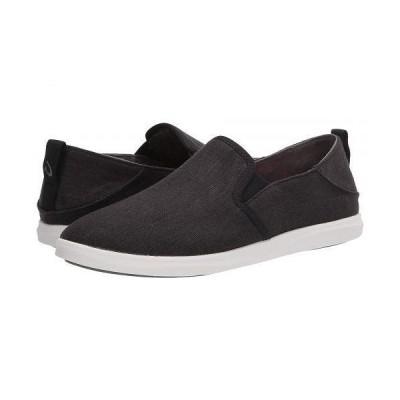 Olukai オルカイ レディース 女性用 シューズ 靴 スニーカー 運動靴 Hale'iwa Olona - Black/Off-White