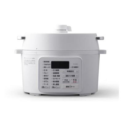 電気圧力鍋 2.2L アイリスオーヤマ PC-MA2-W