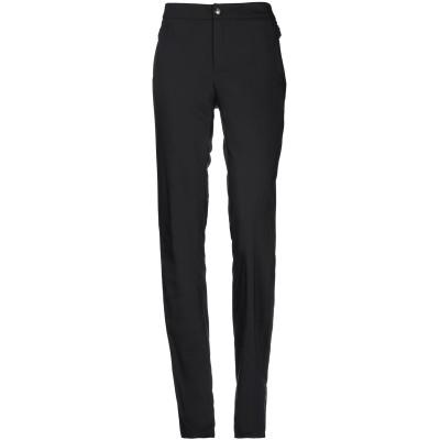ANGELO MARANI パンツ ブラック 48 アセテート 75% / ポリウレタン 25% / コットン / ナイロン パンツ