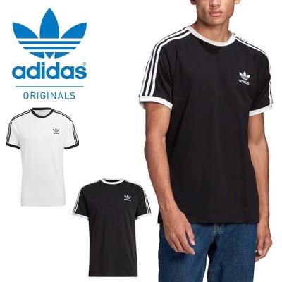 アディダス 半袖 Tシャツ メンズ adidas 3 STRIPES TEE ワンポイント ロゴ ORIGINALS オリジナルス 3本ライン 2021春新作 14212