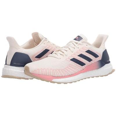 アディダス Solar Boost 19 レディース スニーカー シューズ 靴 Chalk White/Tech Indigo/Glory Pink