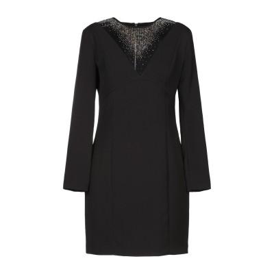 MANGANO ミニワンピース&ドレス ブラック 46 ポリエステル 90% / ポリウレタン 10% ミニワンピース&ドレス