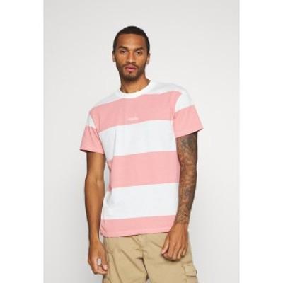 ジャック アンド ジョーンズ メンズ Tシャツ トップス JORSCAPET TEE CREW NECK - Print T-shirt - rosette rosette
