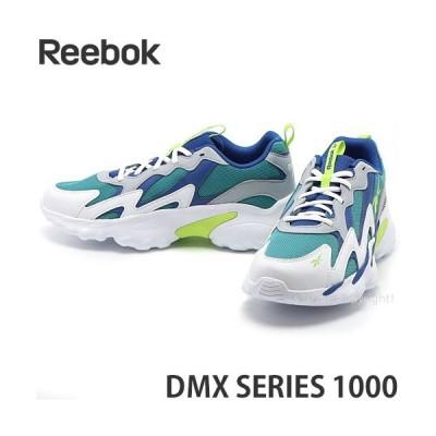 リーボック Reebok DMX SERIES 1000 靴 スニーカー シューズ メンズ レトロ 90s SHOES カラー:ホワイト/コールドグレー/ハンブルブルー
