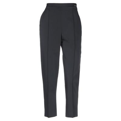 ELISABETTA FRANCHI パンツ ブラック 44 ポリエステル 93% / ポリウレタン 7% パンツ
