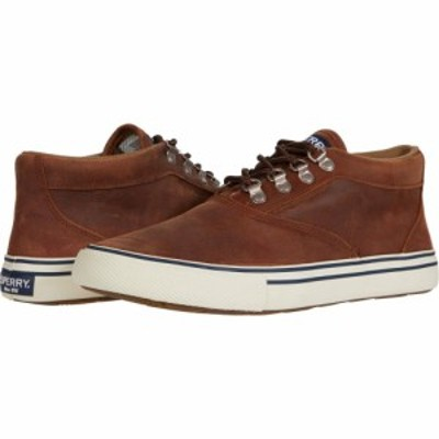スペリートップサイダー Sperry メンズ ブーツ チャッカブーツ シューズ・靴 Striper Storm Chukka WP Tan Leather
