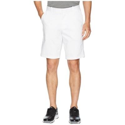 【残り1点!】【サイズ:36x11】ナイキ Nike メンズ ボトムス・パンツ ショートパンツ Golf Flex Shorts Slim Washed White/Silver