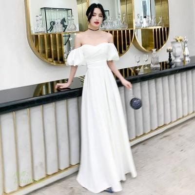 ウェディングドレス ウェディングドレス白 パーティードレス ウエディングドレス エレ簡約 挙式 ウエディング 結婚式 花嫁ロングドレス 二次会