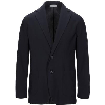 クルーナ CRUNA テーラードジャケット ダークブルー 52 バージンウール 97% / ポリウレタン 3% テーラードジャケット