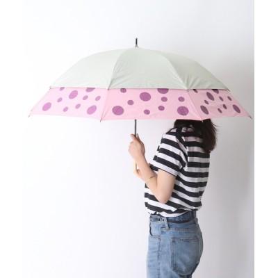 salle de bal / ドットプリント トランスフォーム傘 27018 SGT アンブレラ WOMEN ファッション雑貨 > 折りたたみ傘