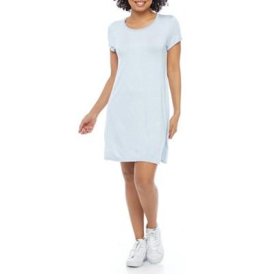 ラブファイヤ レディース ワンピース トップス Junior's Short Sleeve Striped Dress