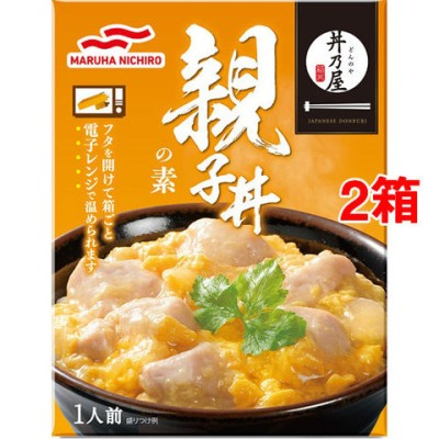 マルハニチロ 丼乃屋 親子丼の素 (210g*2箱セット)