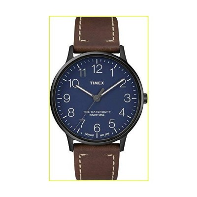 Waterbury Originals モダンメンズ腕時計 ブルー