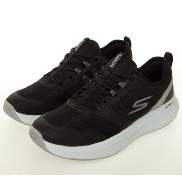 SKECHERS GORUN PULSE 超級輕量化慢跑鞋 NO.128106BKSL