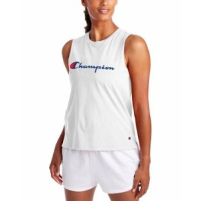 チャンピオン レディース タンクトップ トップス Women's Logo Tank Top White