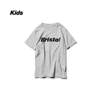 <F.C.REAL BRISTOL(Baby&Kids)/エフシーレアルブリストル> AUTHENTIC LOGO TEE K210016 GRAY【三越伊勢丹/公式】