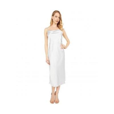 Bebe べべ レディース 女性用 ファッション ドレス Satin Slip Dress - Silver